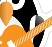 Penguin guitarist Sticker