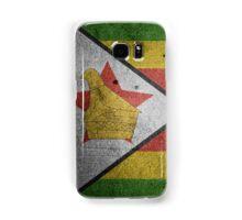 Zimbabwe Flag Grunge Samsung Galaxy Case/Skin