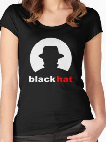 Black Hat Women's Fitted Scoop T-Shirt