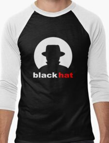 Black Hat Men's Baseball ¾ T-Shirt