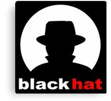 Black Hat Canvas Print