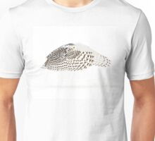 The Count - Snowy Owl Unisex T-Shirt