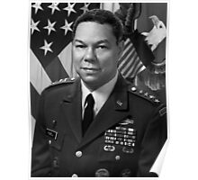 General Colin Powell Poster