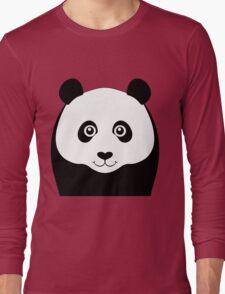 PANDA PORTRAIT Long Sleeve T-Shirt