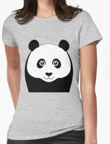 PANDA PORTRAIT Womens Fitted T-Shirt