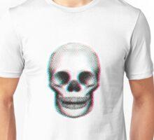 Halftone Skull Unisex T-Shirt