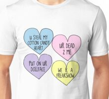 Melanie Martinez Lyric Conversation Hearts Unisex T-Shirt