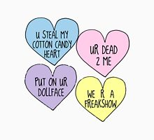 Melanie Martinez Lyric Conversation Hearts Unisex T-Shirt