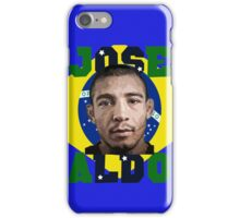 Jose Aldo Brazilian Beast iPhone Case/Skin