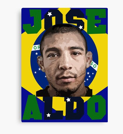Jose Aldo Brazilian Beast Canvas Print