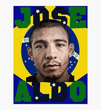 Jose Aldo Brazilian Beast Photographic Print