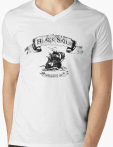 Black Sails - Sailing Since 1715 Mens V-Neck T-Shirt