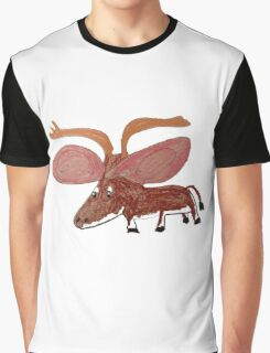 Xander The Moose With The Big Ears Graphic T-Shirt