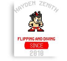 Hayden Zenith - ZBOY Canvas Print