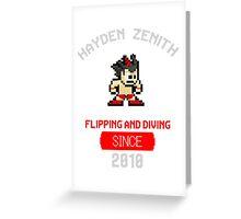 Hayden Zenith - ZBOY Greeting Card