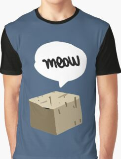 Warren Graham - Meow Box Graphic T-Shirt