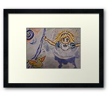 anime alice Framed Print