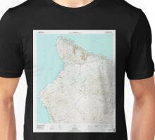 USGS TOPO Map Hawaii HI Hawaii County Sheet 1 349915 1980 100000 Unisex T-Shirt