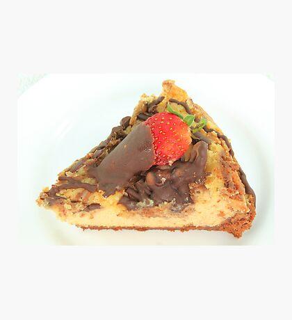 Chocolate Cheesecake Photographic Print
