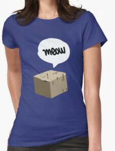 Warren Graham - Meow Box Womens Fitted T-Shirt