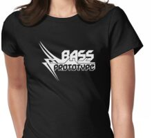 White Logo Women T-Shirt Bass Prototype Womens Fitted T-Shirt