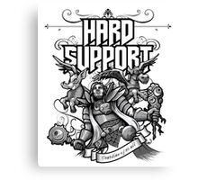 Hard Support Omniknight Canvas Print