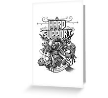 Hard Support Omniknight Greeting Card