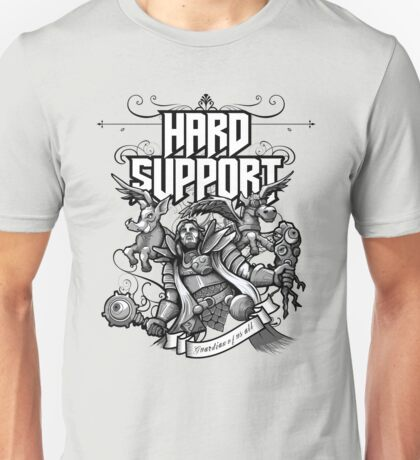 Hard Support Omniknight Unisex T-Shirt