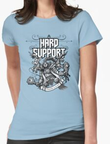 Hard Support Omniknight Womens Fitted T-Shirt
