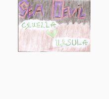 Sea Devil Love Multicolored Unisex T-Shirt