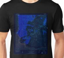 USGS TOPO Map Hawaii HI Makena 349563 1954 24000 Inverted Unisex T-Shirt