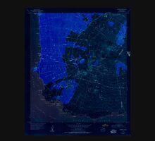USGS TOPO Map Hawaii HI Makena 349563 1954 24000 Inverted Unisex T-Shirt