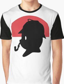 Pikachu Holmes Profile Graphic T-Shirt