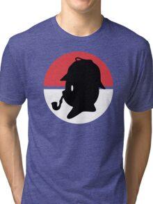Pikachu Holmes Profile Tri-blend T-Shirt