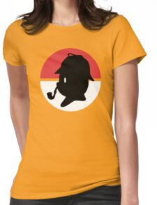 Pikachu Holmes Profile Womens Fitted T-Shirt