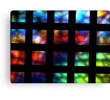 Grid Rainbow Canvas Print