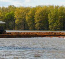 Flooded Farm Sticker