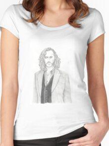 Sirius Black Women's Fitted Scoop T-Shirt