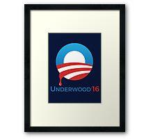 Underwood '16 Framed Print