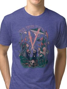 Out There Ode to The X Files Tri-blend T-Shirt