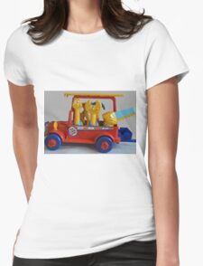 toy Womens Fitted T-Shirt