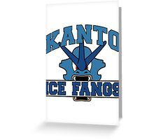 The Kanto Ice Fangs Greeting Card