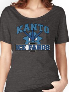 The Kanto Ice Fangs Women's Relaxed Fit T-Shirt