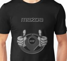 Mazda Eternal Flame Logo Grey Unisex T-Shirt