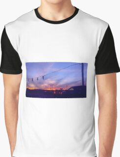Lights At Dusk Graphic T-Shirt