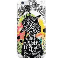 Anne Shirley - Tomorrow iPhone Case/Skin