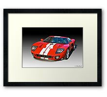 2011 Ford GT Production Framed Print