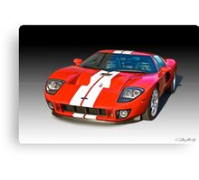 2011 Ford GT Production Canvas Print