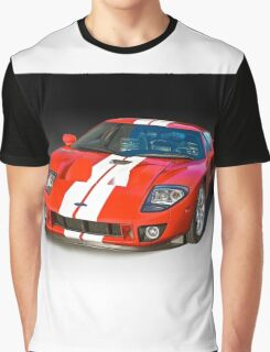 2011 Ford GT Production Graphic T-Shirt