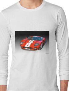 2011 Ford GT Production Long Sleeve T-Shirt